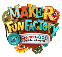 A world where curious kids become hands-on inventors who discover they're lovingly crafted by God.